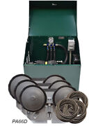 Easypro 1/2 Hp Rocking Piston Deluxe Pond Aeration System Pa66d Diffusers-tubing