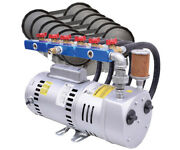 Easypro 1 Hp High Volume Rotary Vane Pond Compressor Kit With Diffusers Pa100a