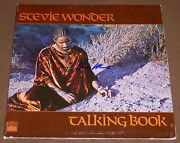 Stevie Wonder Signed Talking Book Record Album W/ Exact Video Proof