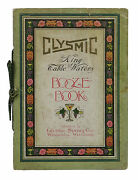 Clysmic King Of Table Waters Booze Book Antique Cocktail Bar Mixing Guide 1910s