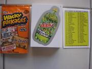 2013 Topps Wacky Packages Ans 10 Complete Set Of 55 Silver Bordered Cardset