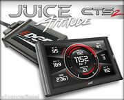 04.5-05 Chevy Duramax 6.6l Lly Edge Products Juice W/ Attitude Cts2 Part 21501