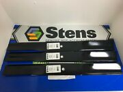 3 Usa Made Heavy Duty 72 6 Foot Woods Finishing Mower Blades 15127 1/4 Thick