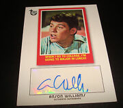 Anson Williams Happy Days 2013 Topps 75th Signed Certified Autograph A14