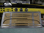 1955 Ford Convertible Interior Door And Rear Seat Sst Trim 6 Pc Set