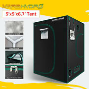 Mars Hydro 5and039x5and039 Indoor Grow Tent Plant Room 1680d Reflective Mylar Hut Home Box