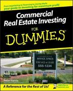 Commercial Real Estate Investing For Dummies By Peter Conti English Paperback