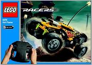 Lego 8376 - Racers Radio Control Hot Flame 2 In 1 - No Box