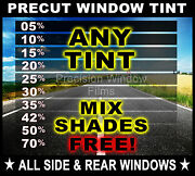Nano Carbon Window Film Any Tint Shade Precut All Sides And Rears For Colorado/s10