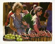 Aldo Luongo Strawberries For Lunch 1983 | Signed Serigraph | See Live Gallart