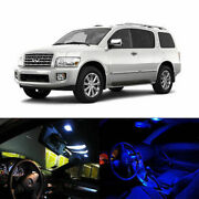 11 X Led Full Interior Lights Package Deal For 2004-2010 Infiniti Qx56 Suv