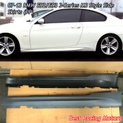 M3 Style Side Skirts Pp Fits 07-13 Bmw E92 E93 2dr 3-series