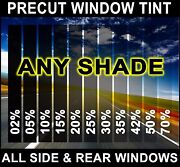 Nano Carbon Window Film Any Tint Shade Precut All Sides And Rears For Ford F-350