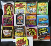 Wacky Packages Ans1 2 3 4 5 6 7 8 Fb 1 And 2 Old School 1-3 13 Sets 735 Cards Wow