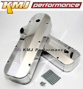 Big Block Chevy 454 Fabricated Aluminum Valve Covers Polished 396 427