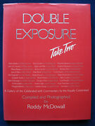 Double Exposure Take Two - Signed By Roddy Mcdowall To Robert Mitchum 1st Ed.