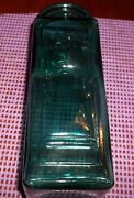 Vintage Coffee Storage Glass Bottle Jar Caffe Made In Italy No Cork