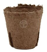 Jiffy 2 Inch Round Pots Peat Seed Starting Compostable 119 - Case Of 3564