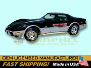 1978 Chevrolet Corvette Indy 500 Pace Car Decals And Stripes Kit