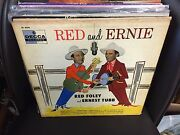 Red Foley And Ernest Tubb Red And Ernie Vinyl Lp Orig 1956 Decca Mono