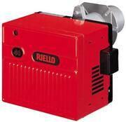 Riello C8551115 Gas120 Natural Gas Burner With Short Tube And 1/2 Gas Train