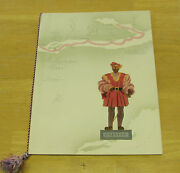 Canada Steamship Lines Menu Dinner T.s.s Richelieu Signed By The Passengers