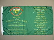 63rd N.y. Irish Ceremonial Reg Historical Indoor Outdoor Dyed Nylon Flag 3and039x5and039