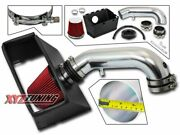 3.5 Red Heat Shield Cold Air Intake+filter For 09 And 11 Dodge Ram 3500 5.7l V8