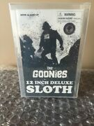 The Goonies Sloth Sdcc Mezco Deluxe 12 Inch Figure Rare 2008 Afa 80 Wow Look