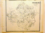 Old Goliad County Texas Land Office Owner Map Kilgore Charco Sarco Schroeder
