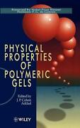 Physical Properties Of Polymeric Gels By J.p. Cohen Addad English Hardcover Bo