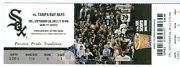 2012 White Sox Vs Rays Ticket Alex Rios And Ben Zobrist Hit Hrs