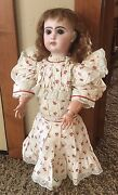 Antique Jumeau French Bisque Doll 22