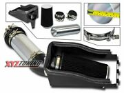 4 Black Heat Shield Cold Air Intake + Filter For 99-03 Excursion 7.3l Turbo V8
