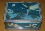Satellite Lunch Box C. 1958-60 American Thermos Products Space No Bottle