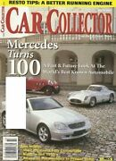 Car Collector March 2001-special Mercedes Issue 1950and039s Nashand039s 49 Ford 62 Fury