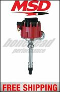 Msd Ignition Distributor, Street Fire, Chevrolet V8 Gm Hei With 4-pin Module