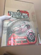 2007 Hasbro Transformers Exclusive Variant Pink Deluxe Arcee Afa85/85/95 Wow