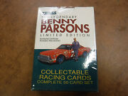 1992 Traks Race Products Benny Parsons Collectable Racing Cards Sealed Jha