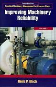 Improving Machinery Reliability By Heinz P. Bloch English Hardcover Book Free