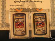 1979 Topps Wacky Packages Series 1 Sticker Neveready