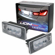 Oem-replace Led License Plate Lamp Assy For Audi A3 A4 A5 Q5 Tt Bmw 3 4 5 Series