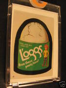 1986 Topps Wacky Packages Album Stickers 57 Loggs