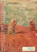 1959 American Rifleman Magazine The Praire Grouse Story/carving A Gunstock