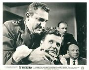 Invisible Boy Original Rare Lobby Card Robby The Robot Men Fighting
