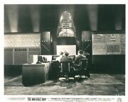 Invisible Boy Original Rare Lobby Card Robby The Robot Men Scientists In Lab