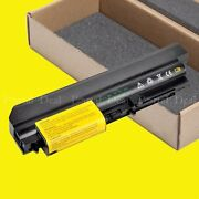 Laptop Battery For Lenovo Thinkpad R61 R61i T61 T61p R400 T400 14.1 Widescreen