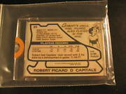 1979-80 Topps Hockey Capitals + Wacky Packages Proof