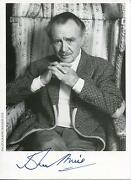 John Mills Goodbye Mr Chips War And Peace British Actor Signed Photo Autograph