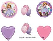 Sofia The First 1st Happy Birthday Party Balloons Decorations Supplies Princess